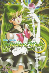 Sailor Pluto on book cover