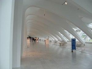 Corridor at Milwaukee Art Museum