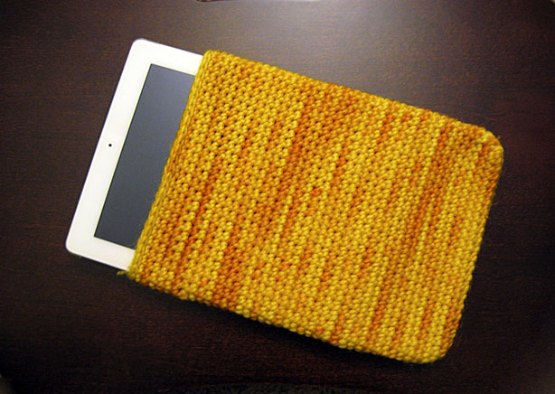 iPad and cover.