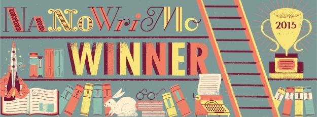 NaNWriMo 2015 Winner Banner